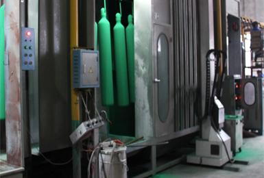 Cylinder Spray Drying Equipment  And Curing